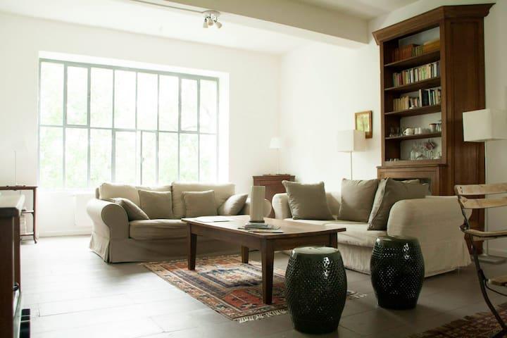 La Miellerie Coté Jardin - StVictor - Ingrandes - Appartement