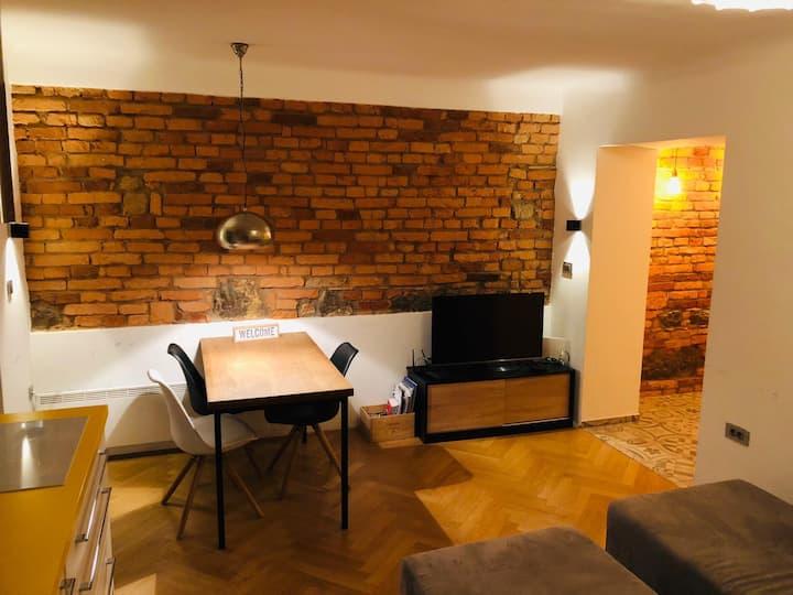 Central Brick Apartment