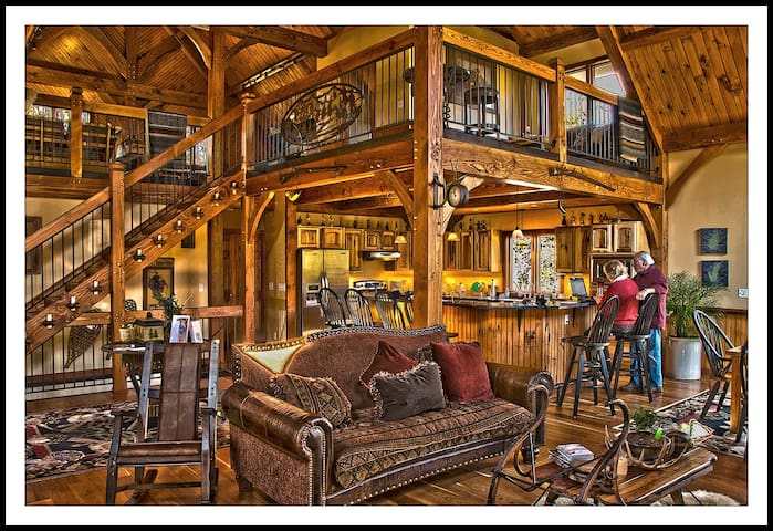 Not Your Typical Mountain Cabin Get-Away
