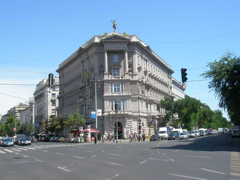 Apartment buidling on Andrassy Avenue