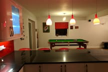 Shared Kitchen/Pool/Dining Room