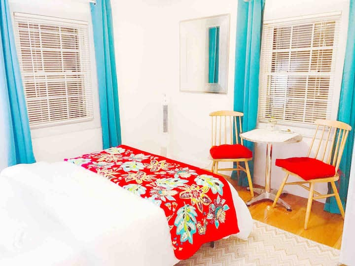 @3闪闪 bright sunny room near Tufts Cambridge Davis