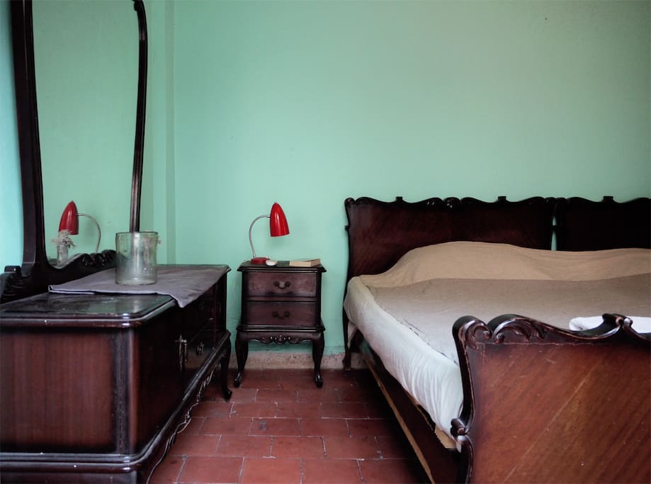 The double bedroom