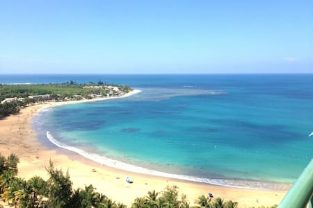 1 Bedroom Beachfront apartment - Luquillo