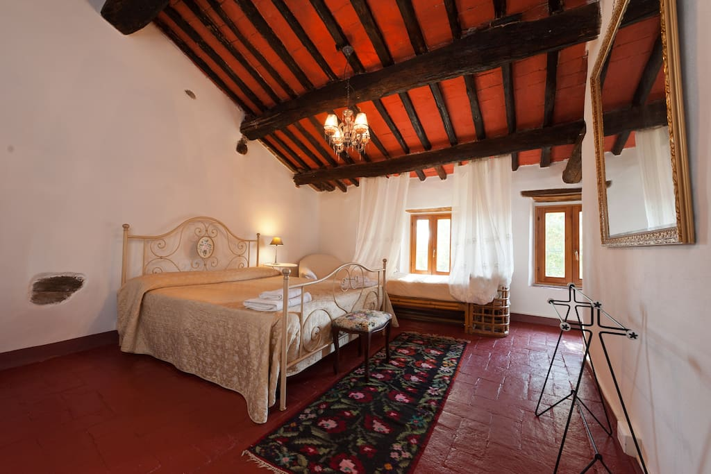 Triple Room - double bed and a romantic day bed or extra single bed.