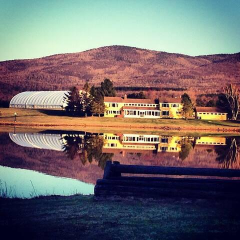 Magnifique domaine avec lac privé - Brome Lake - บ้าน