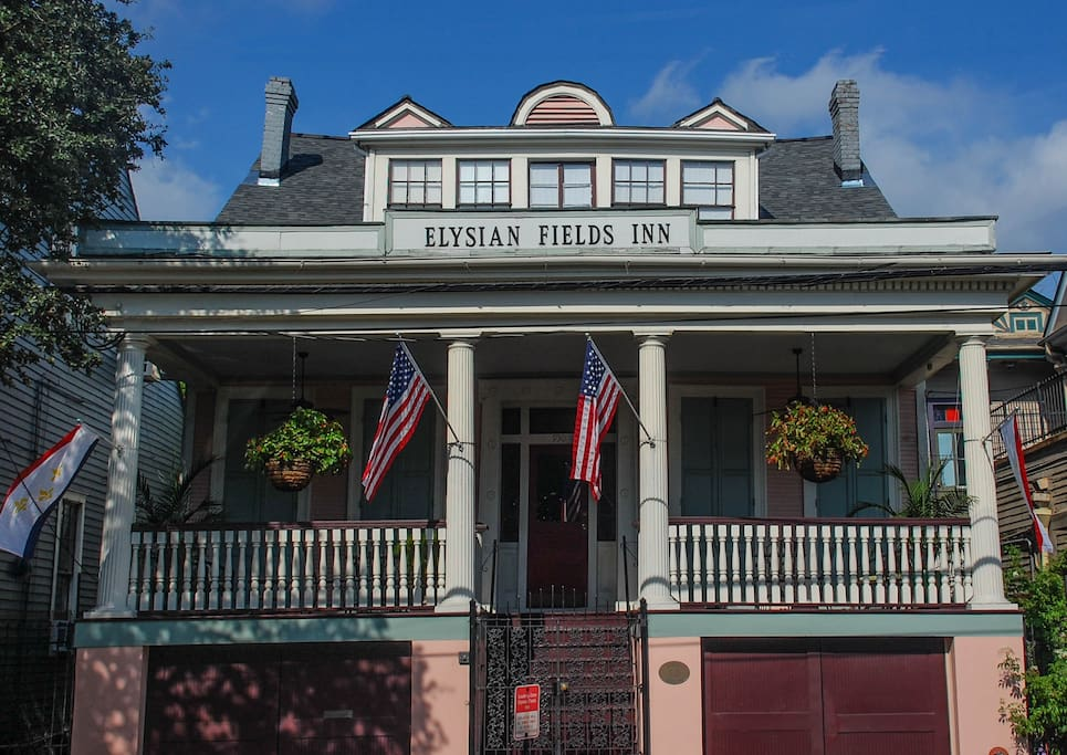 Elysian Fields Bed And Breakfast To French Quarter New Orleans