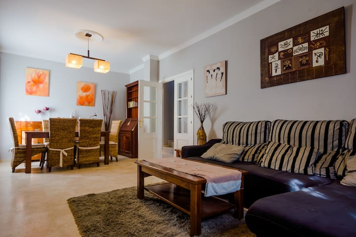 Casa de 3 dorm.con Aire a. cerca de la playa - Chiclana de la Frontera - Ev