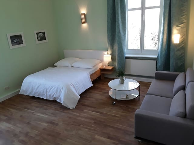 ROOM + PARKING  close to main station ...WiFi - Pirna - Huoneisto