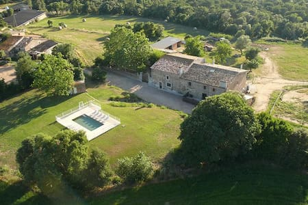 Masia with pool near the beach - Llagostera