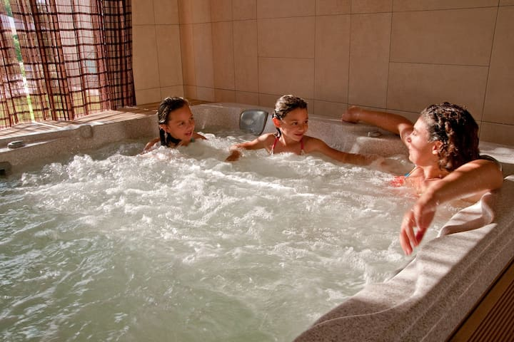 A truly relaxing stay with a spa - Saligny - Rumah