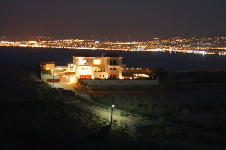 Magnificent view Ground floor apart - Heraklion - Ev