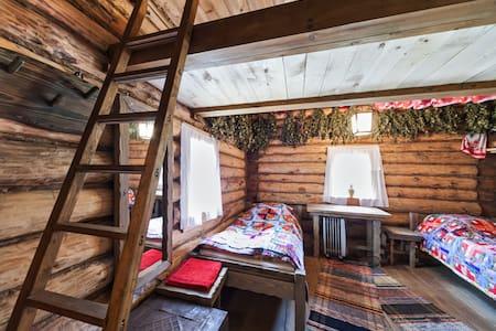 Guest izba w/ Banya Podvorye Dimino
