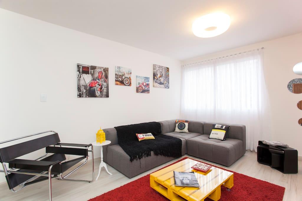 Modern decoration, brand new furniture