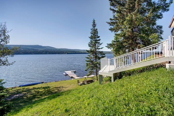 Luxury lakefront Maya resident - Prince George - Haus
