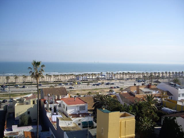 Great Apartment at Valencia's beach - Valencia - Huoneisto