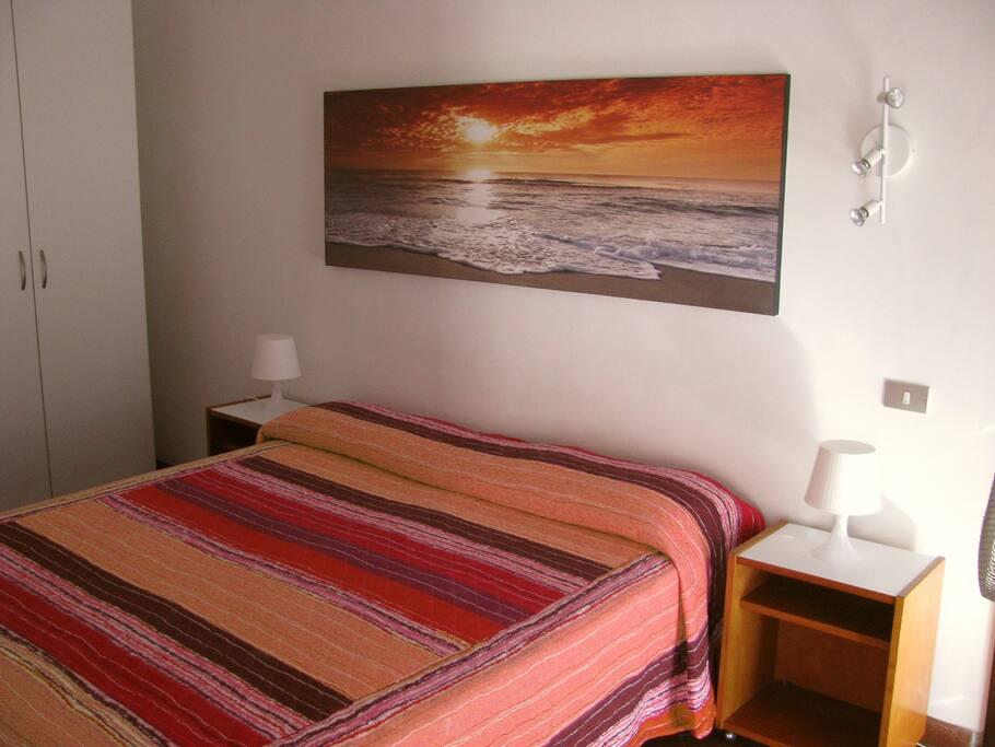 Appartamento Sole: camera da letto (letto matrimoniale).