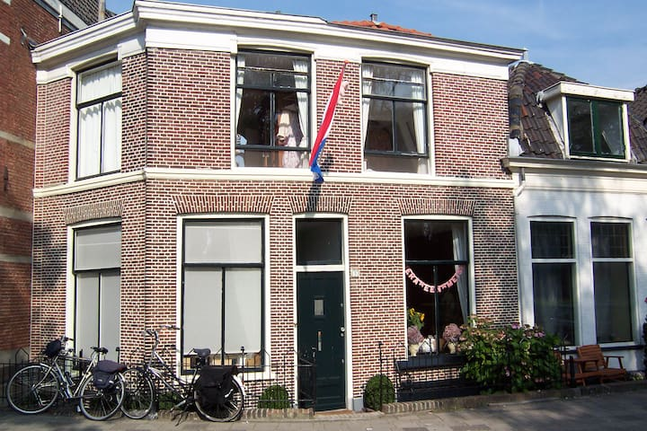Charming, spacious house in Leiden