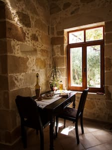 Picturesque traditional stone house - platanos /kissamos.chania