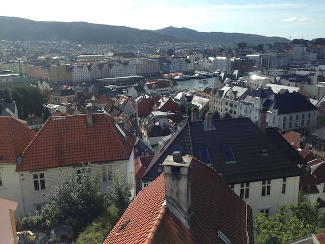 Townhouse in the heart of Bergen 3 - Bergen - Casa