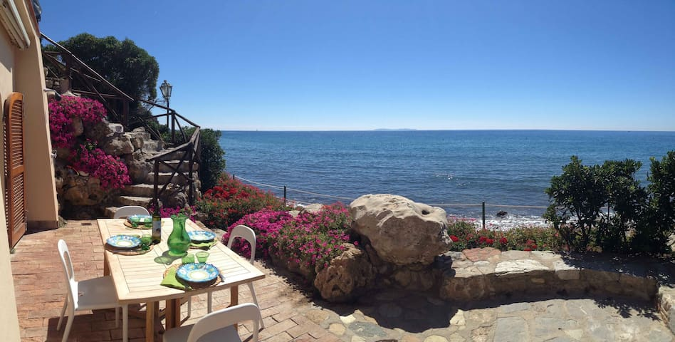 Amazing Tuscan beachfront apartment - Monte Argentario - Flat