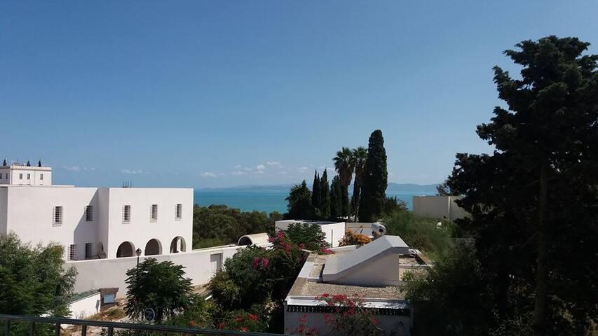 Charmant studio en terrasse à Carthage