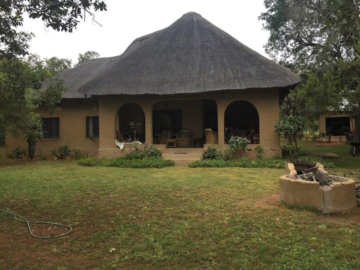 Private bush retreat.