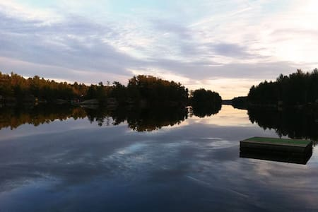 The ultimate lakeside Muskoka retreat! Tons of living space and impeccable views all year round.