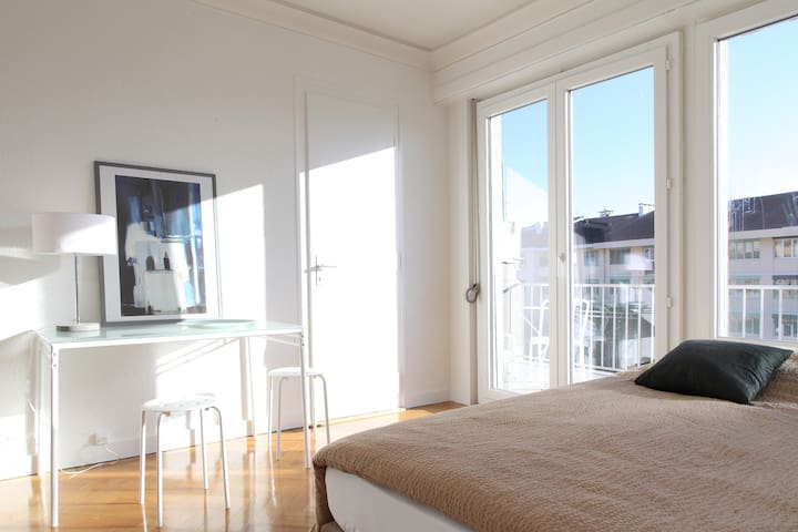New Studio-Terrace Central / 35m2 - Genève - Lägenhet