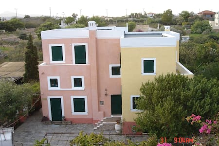 AEGINA Island Holiday Flat Sleeps 2/4 - Nisi - Huoneisto