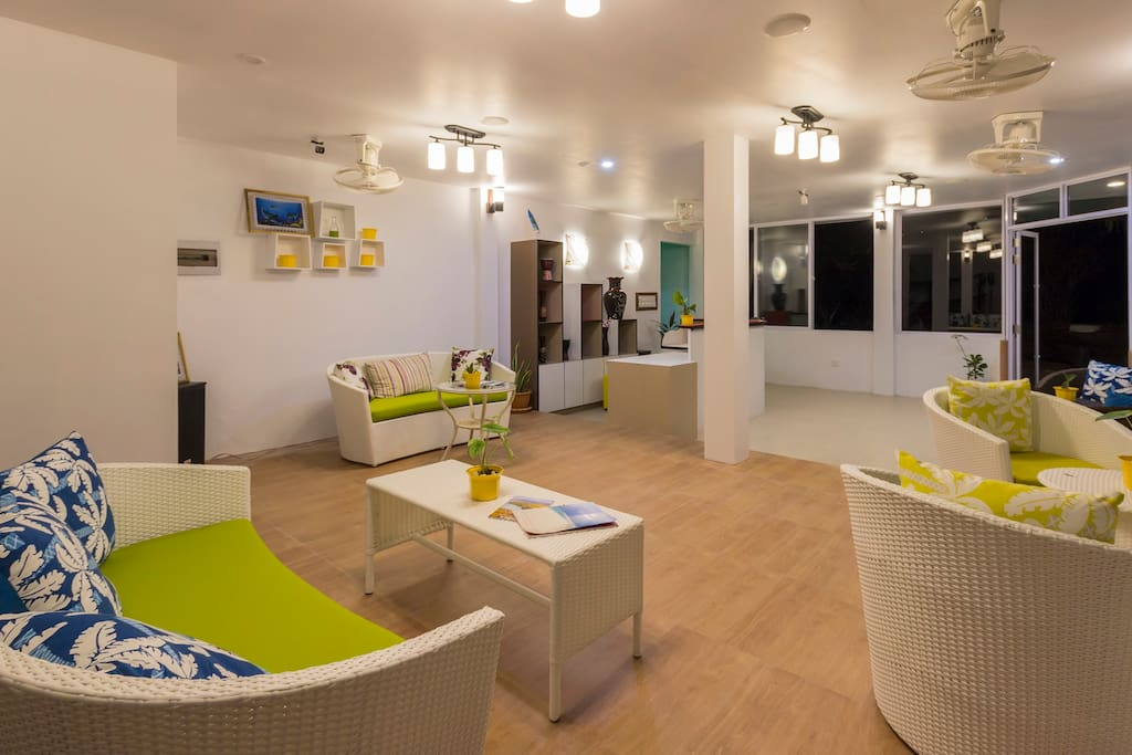Reception / Lobby of Liberty Guest House Maldives