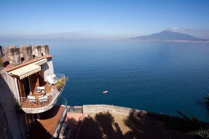 Sea Tower in Sorrento Coast  - Vico Equense - Apartment
