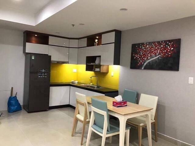 Masteri Premium Aparment - 2 bedrooms w Nice DECOR - Leilighet