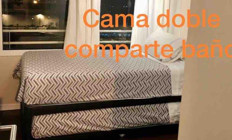 Dcama NIDO s/Tv comparte baño-cocina ACEPTÓ OFERTA