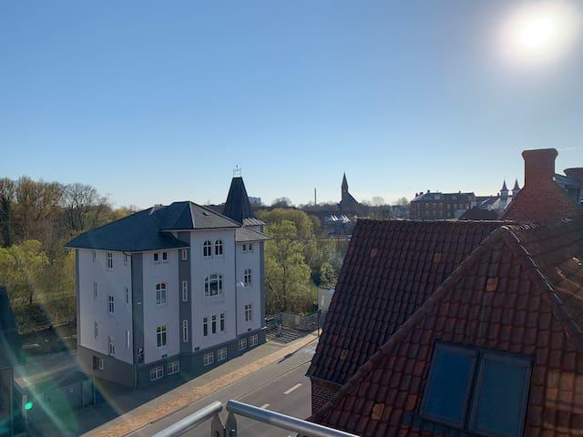 Lys lejlighed i hjertet af Odense