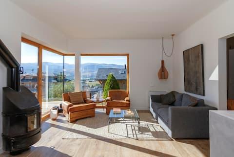 Prachtig modern designhuis Alp III
