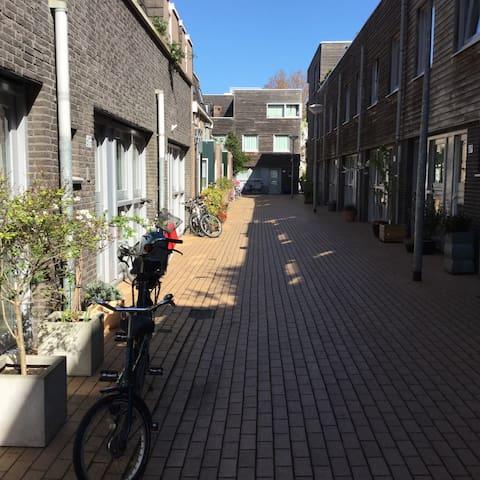 Family house, old centre courtyard - Den Haag - 獨棟