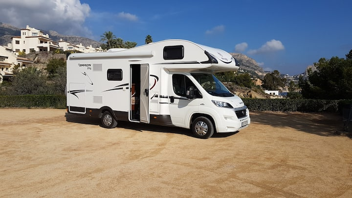 wynajem rent a Camper Baron - RV Hiszpania | Spain