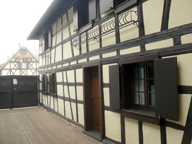 la petite maison alsacienne