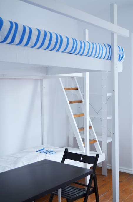 Double ans single bunk beds
