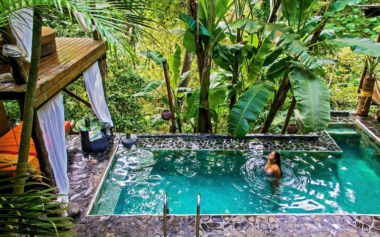 CANAIMA CHILL HOUSE, Eco Chic Suite Loft para 4pax