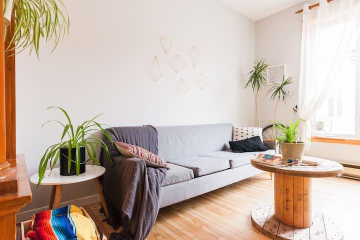 Chambre confortable en Basse-Ville - Québec - Wohnung