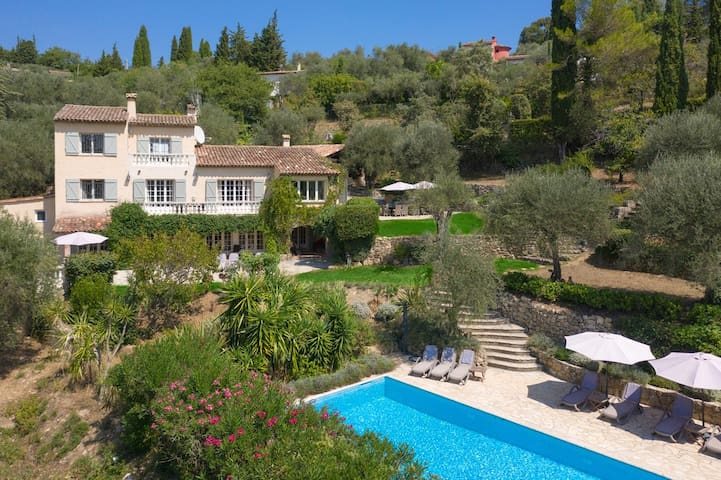 Stunning country villa w/pool on the Côte d'Azur