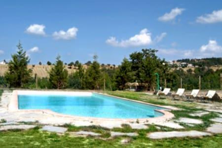 country house with pool, Perugia - Perugia - Hus
