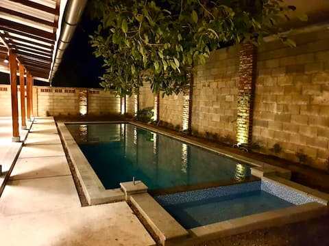 Beautiful Tanjung Pandan home with swimming pool