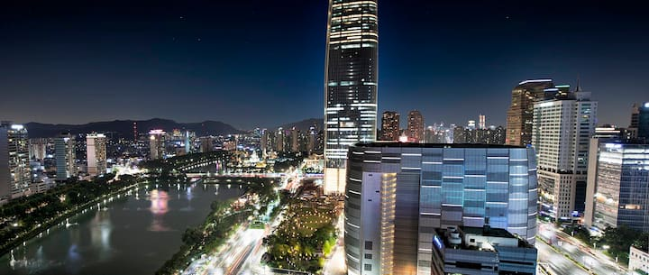 Lotte World Tower & Jamsil Station 1min,Super view