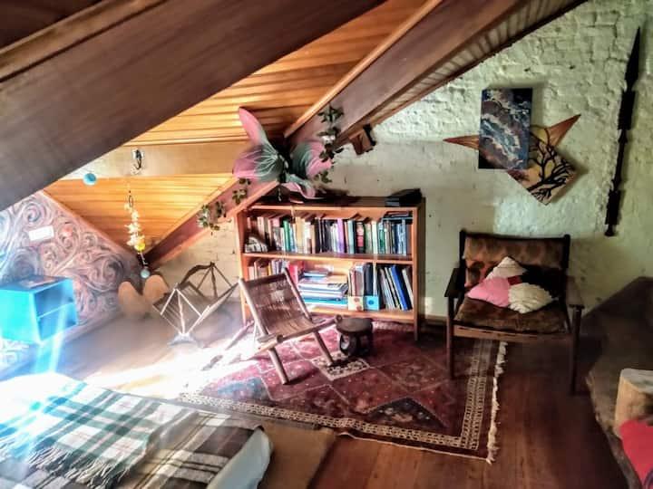 suite no sótão