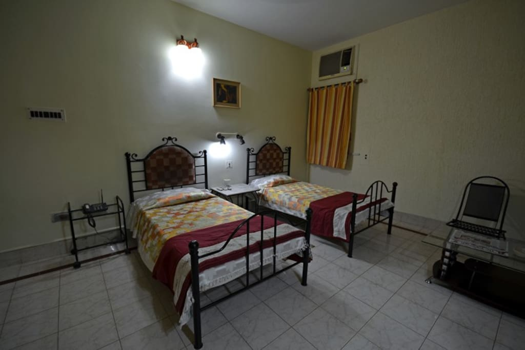 Bed Side View-Deluxe Room Type B