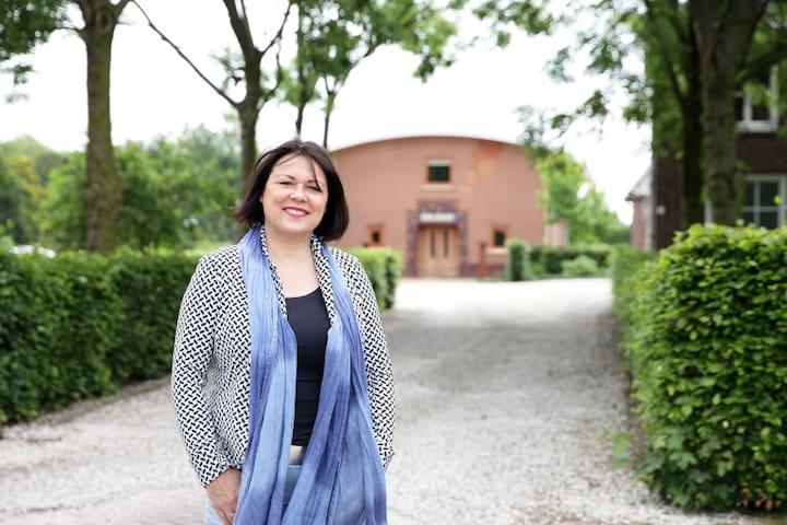 StroHotel Aalshof Haps - Haps - Casa cueva