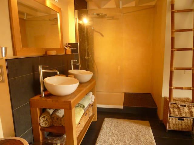Chambre centre vieux boucau proche ocean - Vieux-Boucau-les-Bains - Flat